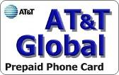 AT&T Global Prepaid Phone Card