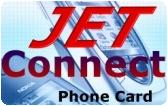 Jet Connect Prepaid Phone Card