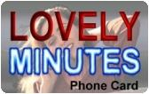 Lovely Minutes Prepaid Phone Card