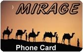 Mirage Prepaid Phone Card