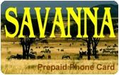 Savanna Prepaid Phone Card